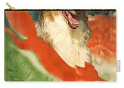 Borzoi Art - Hunting In The Ussr Poster Carry-all Pouch