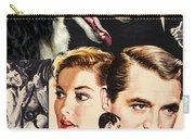 Borzoi Art - Suspicion Movie Poster Carry-all Pouch