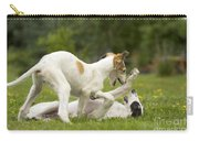 Borzoi Puppies Playing Carry-all Pouch
