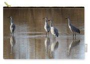 Bosque Del Apache Cranes Carry-all Pouch