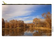 Bosque Del Apache Reflections Carry-all Pouch