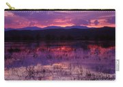 Bosque Sunset - Purple Carry-all Pouch