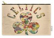 Boston Celtics Poster Art Carry-all Pouch