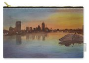 Boston Charles River At Sunset  Carry-all Pouch