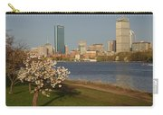 Boston Charles River On A Spring Day Carry-all Pouch