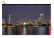 Boston From Memorial Drive Carry-all Pouch by Joann Vitali