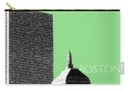Boston Hancock Tower - Sage Carry-all Pouch