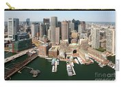Boston Harbor And Boston Skyline Carry-all Pouch