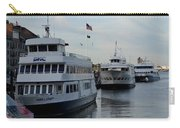 Boston Harbor Cruise Three In A Row Carry-all Pouch