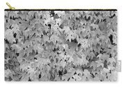 Boston Ivy In Monochrome Carry-all Pouch