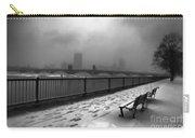 Boston Longfellow Bridge-snow Cityscape V3 Carry-all Pouch