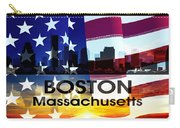 Boston Ma Patriotic Large Cityscape Carry-all Pouch