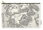 Boston: Map, 1775-1776 Carry-all Pouch