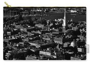 Boston Old North Church Black And White Carry-all Pouch