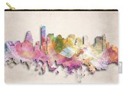 Boston Painted City Skyline Carry-all Pouch