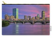 Boston Pastel Sunset Carry-all Pouch by Joann Vitali