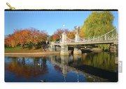 Boston Public Garden Autumn Carry-all Pouch
