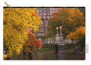 Boston Public Garden Lagoon Bridge Carry-all Pouch