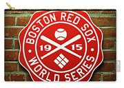 Boston Red Sox 1915 World Champions Carry-all Pouch by Stephen Stookey