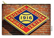 Boston Red Sox 1916 World Champions Carry-all Pouch