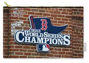 Boston Red Sox World Champions Carry-all Pouch