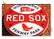 Boston Red Sox World Series Champions 1918 Carry-all Pouch by Stephen Stookey