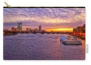 Boston Sky Carry-all Pouch by Joann Vitali