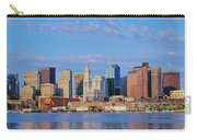 Boston Skyline And Harbor, Massachusetts Carry-all Pouch