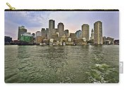 Boston Skyline At Sunset Carry-all Pouch