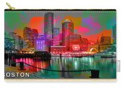 Boston Skyline Painting Carry-all Pouch
