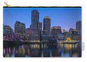 Boston Skyline Seaport District Carry-all Pouch