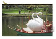 Boston Swan Boats Carry-all Pouch by Barbara McDevitt