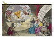 Boston Tea Party Cartoon Carry-all Pouch