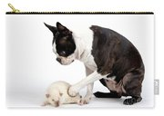 Boston Terrier & Mink Rat Carry-all Pouch