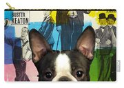 Boston Terrier Art - 30 Years Of Fun Movie Poster Carry-all Pouch