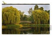 Botanic Garden Bridge At Dusk Carry-all Pouch