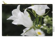 Botanical Beauty In White Carry-all Pouch