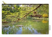 Botanical Garden Lake Spring View Carry-all Pouch