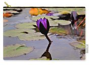 Botanical Garden Lotus Flowers Carry-all Pouch