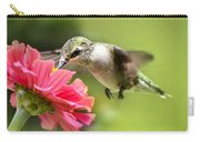 Botanical Hummingbird Carry-all Pouch