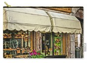 Bottega Del Pane Italian Bakery And Bicycle Carry-all Pouch