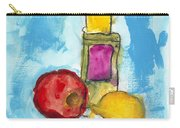 Bottle Apple And Lemon Carry-all Pouch