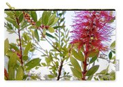 Bottlebrush On A Snowy Day In Park Sierra-ca  Carry-all Pouch