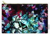 Bougainvillea Moon Carry-all Pouch
