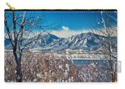 Boulder Colorado Winter Season Scenic View Carry-all Pouch
