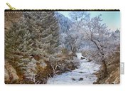 Boulder Creek Winter Wonderland Carry-all Pouch