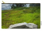 Boulder On The Shore At The Mount Desert Narrows In Maine Carry-all Pouch