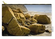 Boulders On The Beach At Torrey Pines State Beach Carry-all Pouch