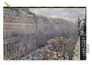 Boulevard Des Italiens Carry-all Pouch