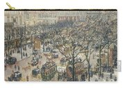 Boulevard Des Italiens Morning Sunlight Carry-all Pouch